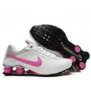 Tenis Nike Shox Deliver Branco/Rosa