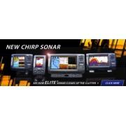 Sonar Lowrance Elite-7X CHIRP sonar cu transductor 83/200, 455/800 kHz