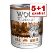 Wolf of Wilderness 6 x 800 g, tijdelijk 5 + 1 gratis! - Wild Hills - Eend