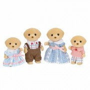 Sylvanian Families Yellow Labrador Family Set, Yellow