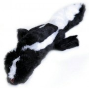 Animate Flat Friend Squeaky Dog Toy - Skunk (Size: 48cm)