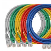 Cablu Schrack Cat.6, ecranat-FTP, RJ45, 0.5m