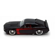 1970 Ford Mustang Boss 429, Black - Jada Toys 90211 - 1/24 scale Diecast Model Toy Car