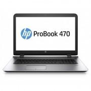 Laptop HP ProBook 470 G3 17.3 inch HD+ Intel Core i3-6100U 4GB DDR4 500GB HDD AMD Radeon R7 M340 1GB FPR Silver cu Geanta laptop