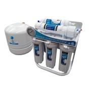 Osmosis Inversa 5 pasos 100 GPD Estilizada C/Bomba y Manómetro