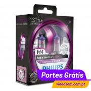 Philips H4 ColorVision Purple ( 2 Lâmpadas )