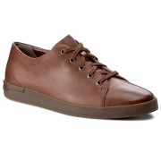 Обувки CLARKS - Stanway Lace 261272427 Tan Leather