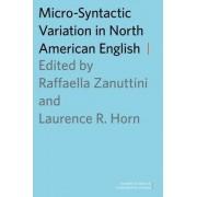 Micro-Syntactic Variation in North American English by Raffaella Zanuttini