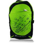 Synergy SY54 21.824 L Medium Laptop Backpack(Green)