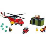 Set Constructie Lego City Unitatea De Interventie A Pompierilor