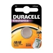 DURACELL Knopfzelle Lithium CR1616