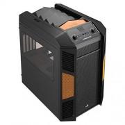 Boîtier PC Aerocool Xpredator Cube orange uATX ATX 4
