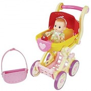 KONGSUNI Musical Baby Stroller Doll Stroller Music Comes Out