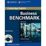 Business Benchmark Advanced Student's Book with CD ROM BULATS Edition by Guy Brook-Hart