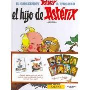 El hijo de Asterix & Como Obelix se cayo en la marmita del druida cuando era pequeno/ The Son of Asterix & Obelix As He Fell Into the Cauldron of the Druid When He was Little by Rene Goscinny