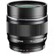 Olympus 75mm f/1.8 ed m.zuiko - nero - 4 anni di garanzia