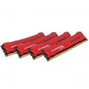 HyperX Savage - 32 Go (4 x 8 Go) DDR3-2133 PC3-17000 CL11 (HX321C11SRK4/32) - Mémoire PC