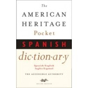 American Heritage Pocket Spanish Dictionary by the of Editors Dictionaries Heritage American