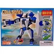 Mera Toy Shop Robot Construction Set -174 Pcs (Multicolor)