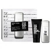 Carolina Herrera 212 Vip Men 100Ml Edt 100Ml + 100Ml Docciaschiuma Per Uomo (Eau De Toilette)