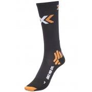 X-Socks Bike Energizer Socks Mid Black 45-47 Socken