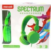 Casti Maxell Spectrum Verde