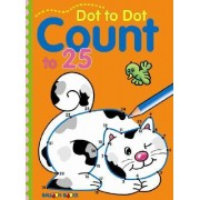 Dot to Dot Count to 25 by Balloon Books