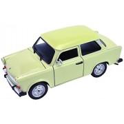 Idena 10032395 - Modellino di Trabant 601 con parti mobili, in scala 1:24, colore: Beige
