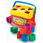 Game / Play Fisher Price Brilliant Basics Babys First Blocks Frustration Free Packaging. Plastic, Shapes Toy / Child / Kid