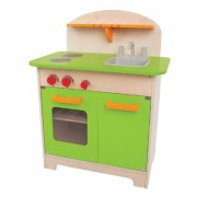 Hape-Wooden Gourmet Chef Kitchen, Green