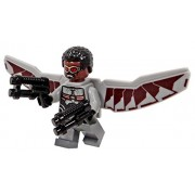 Lego Falcon Minifigure - Captain America Civil War Version - Loose
