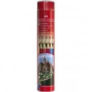 Creioane Colorate In Tub Faber-Castell 24 culori/tub metal