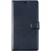 Monedero Caso Para Lenovo Phab 2 Plus ,Popsky Cuero Carcasa Flip Protección Soporte Con Cover (Negro