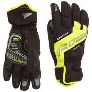 Ziener Guanti da uomo Dale as Touch Bike Gloves, Uomo, Handschuhe Dale AS Touch Bike Gloves, nero/giallo, 7
