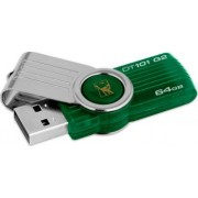 USB Flash Drive Kingston DataTraveler 101 64 GB Gen2 Verde