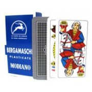 Deck of Bergamasche Italian Regional Playing Cards