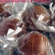 Maxons Original Brandy Balls Traditional Retro Sweets