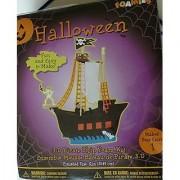 Halloween 3-D Pirate Ship Foam Kit
