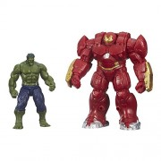 Avengers Marvel Avengers Age Of Ultron Hulk And Avengers Marvel'S Hulk Buster 2.5-Inch Figures