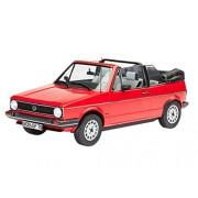 Revell 07071 - VW Golf 1 Cabriolet Kit di Modello in Plastica, Scala 1:24