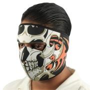 Masque en néoprène Squelette - Airsoft moto motard