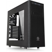 Thermaltake, Versa H34 Window Mid-tower Chassis with Side Window - Black