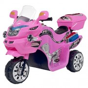 Lil Rider 3 Wheel Battery Powered Motorcycle, Kids Electric Motorcycle, Pink