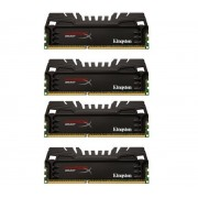 KINGSTON-Mémoire PC HyperX Beast 4 x 4 Go DDR3-1600 PC3-12800 (KHX16C9T3K4/16X)-