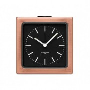 LEFF amsterdam Väckarklocka - LEFF Block Copper Black Index