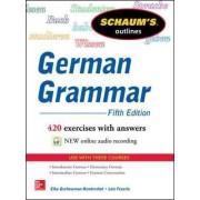 Schaum's Outline of German Grammar by Elke Gschossmann-Hendershot