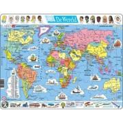 Legpuzzel de Wereld Staatkundig   Larsen