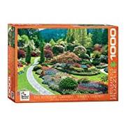 Eurographics Butchart Gardens Sunken Garden Puzzle (1000 Pieces)