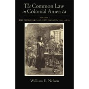 The Common Law of Colonial America by William E. Nelson