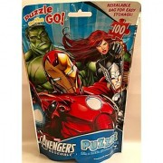 Avengers Assemble Puzzle on the Go! 100pcs in Resealable Bag